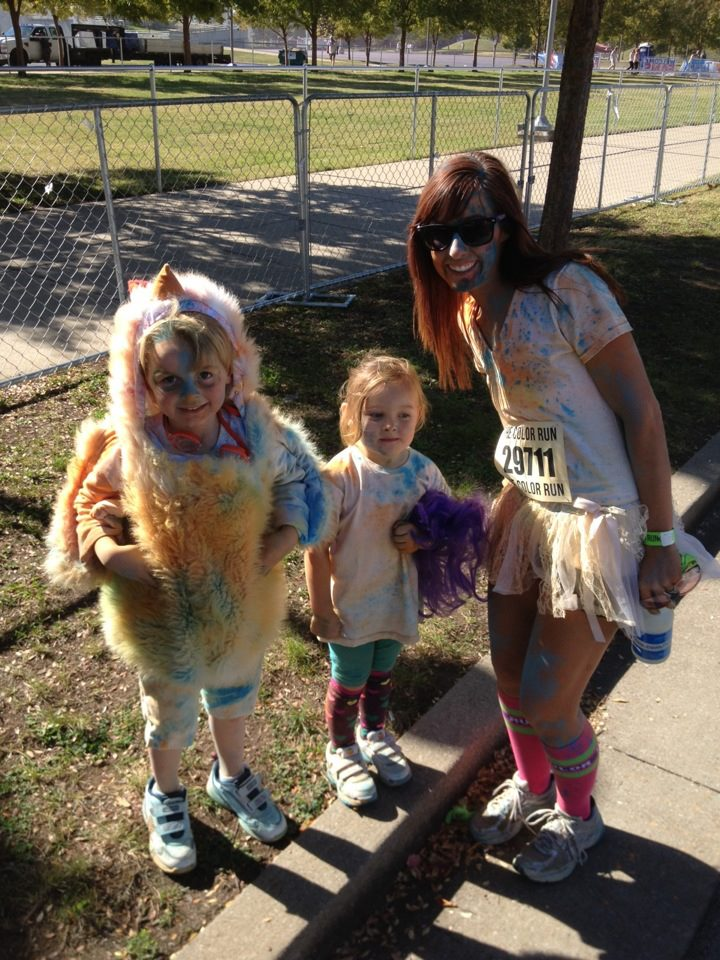 Color run 2012 family