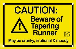 Tapering caution