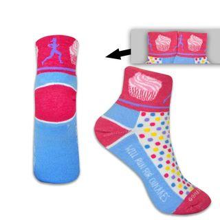 Cupcake sock
